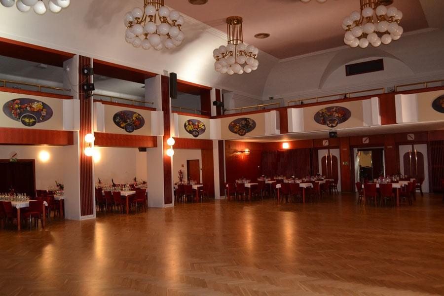Velký sál ples